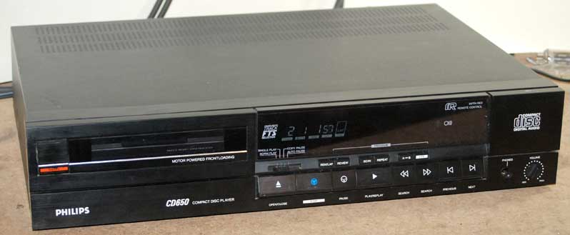 Philips cd 650