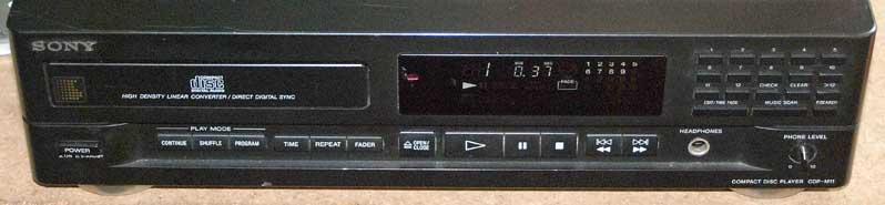 Sony cdp m11