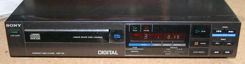 Sony cdp-30